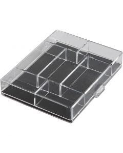 Acrylic Box, , size 11,8x9,3x2,2 cm, 100 pc/ 1 pack