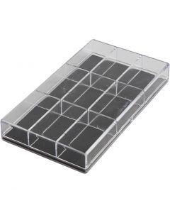 Acrylic Box, , H: 2.4 cm, L: 16.5 cm, W: 9,3 cm, 100 pc/ 1 pack