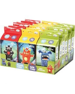Funny Friends, monsters, 18 set/ 1 pack
