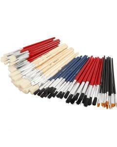YellowLine Brush Set, no. 4+8+10+12+3/4, 60 pc/ 1 pack