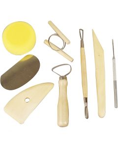Pottery Tool Kit, 8 pc/ 1 pack
