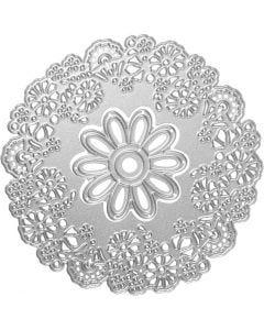 Die Cut, floral madness, D: 10,5 cm, 1 pc