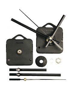 Clockwork Mechanics, plate max thickness 6 mm, black, 1 set
