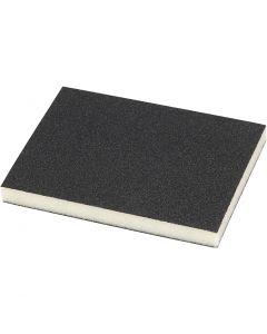 Sanding Sponge, 120 Grit, size 9,5x12 cm, 4 pc/ 1 pack