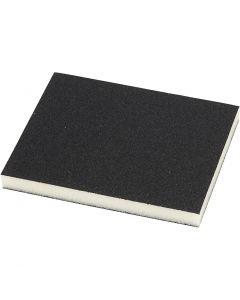 Sanding Sponge, size 9,5x12 cm, 4 pc/ 1 pack