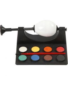 Egg Painter, L: 16,5 cm, black, 1 set