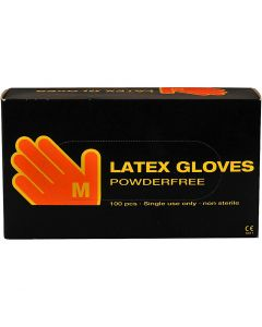 Latex Gloves, size medium , 100 pc/ 1 pack