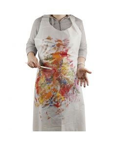 Disposable Aprons, H: 130 cm, W: 80 cm, 100 pc/ 1 pack