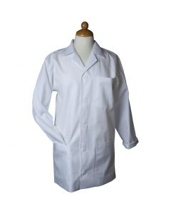 Malkittel, L: 91 cm, size x-large , Sleeve Length: 64 cm , white, 1 pc