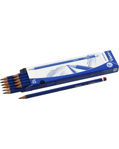 Robinson Pencils, D: 6,8 mm, hardness B, lead 2 mm, 12 pc/ 1 pack