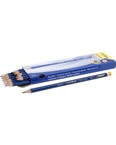 Robinson Pencils, D: 6,8 mm, hardness HB, lead 2 mm, 12 pc/ 1 pack