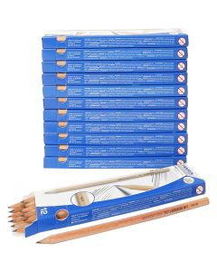 School Pencils, L: 18 cm, thickness 7 mm, 12x12 pc/ 1 pack