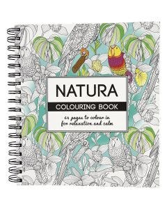 Mindfullness Colouring Book, natural, size 19,5x23 cm, 64 , 1 pc