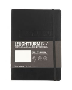 Bullet Journalling Notebook , A5, thickness 2 cm, 240 , black, 1 pc