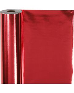 Wrapping Paper, W: 50 cm, 65 g, red, 100 m/ 1 roll