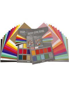 Glazed Paper, 32x40 cm, 80 g, 1 set