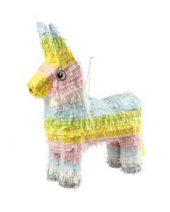Party Piñata, size 39x13x55 cm, pastel colours, 1 pc