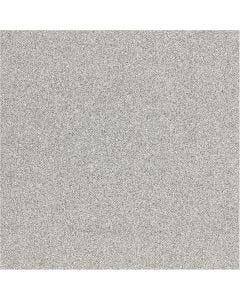 Glitter Film, W: 35 cm, thickness 110 my, silver, 2 m/ 1 roll