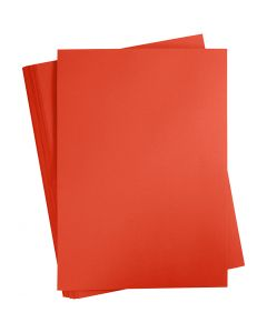 Card, A2, 420x600 mm, 180 g, pillar box red, 100 sheet/ 1 pack