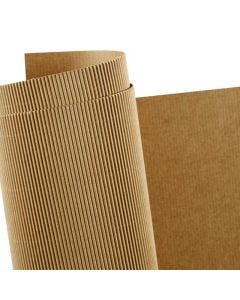Corrugated Card, 50x70 cm, 120 g, 10 sheet/ 1 pack