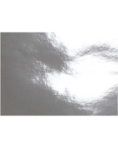 Metallic Paper, A4, 210x297 mm, 120 g, silver, 100 sheet/ 1 pack