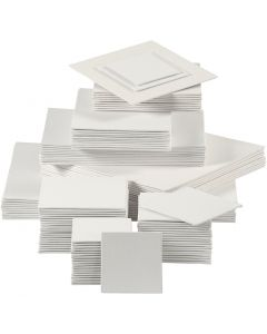 Canvas Panel, 280 g, white, 110 pc/ 1 pack
