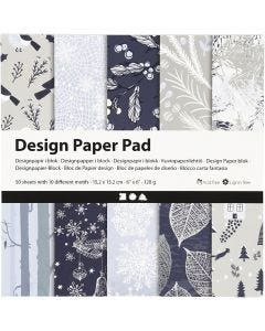 Design Paper Pad, 120 g, 50 sheet/ 1 pack