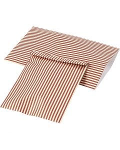 Paper Bag, H: 21 cm, W: 11,5 cm, 80 g, 12 pc/ 1 pack