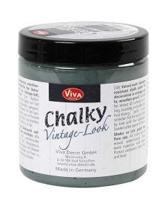 Chalky vintage look, dark green (702), 250 ml/ 1 tub