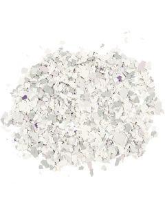 Terrazzo flakes, light grey, 90 g/ 1 tub