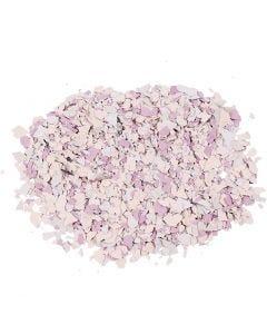 Terrazzo flakes, purple, 90 g/ 1 tub