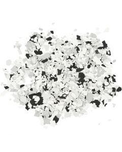 Terrazzo flakes, black, 90 g/ 1 tub