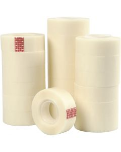 Magic Tape, W: 19 mm, 20x33 m/ 1 pack