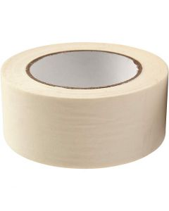 Masking Tape, W: 50 mm, 50 m/ 1 roll