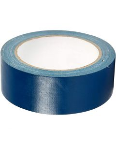Duct Tape, W: 38 mm, blue, 25 m/ 1 roll