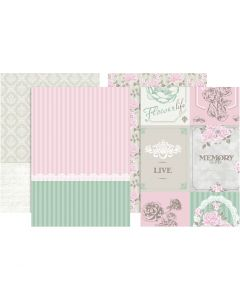 Decoupage Paper, 8 ass sheets/ 1 pack