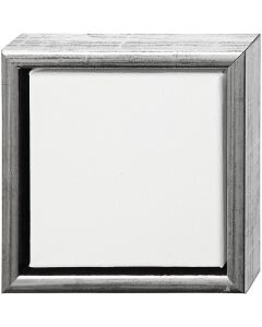ArtistLine Canvas with frame, size 19x19 cm, white, 6 pc/ 1 pack