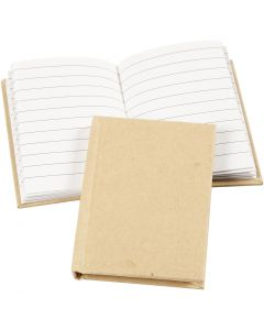 Notebook, A7, 60 g, brown, 1 pc