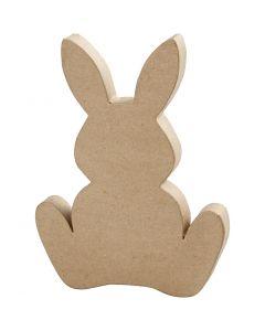 Bunny, H: 25 cm, depth 2,5 cm, 1 pc