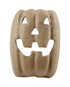 Halloween Mask, H: 21,5 cm, W: 17 cm, 1 pc