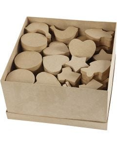 Boxes, size 6-11 cm, 7x9 pc/ 1 pack