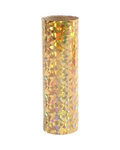 Deco Foil, W: 15,5 cm, gold, 50 cm/ 1 roll