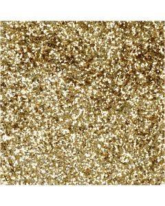 Bio Sparkles, D: 0,4 mm, gold, 10 g/ 1 tub