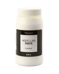 Pigment modelling paste, coarse, 500 ml/ 1 tub