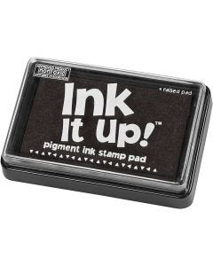 Ink Pad, size 6,3x9,5 cm, black, 1 pc
