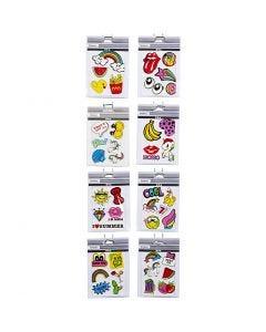 Soft Stickers, 12,2x17,75 cm, 8x10 sheet/ 1 pack