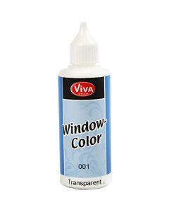 Viva Decor Window Color, transparent, 80 ml/ 1 bottle