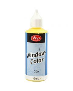 Viva Decor Window Color, yellow, 80 ml/ 1 bottle