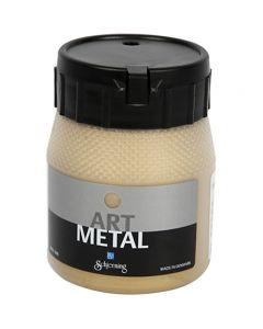 Art Metalic Paint, light gold, 250 ml/ 1 bottle