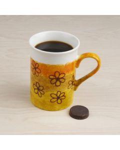 A Mug with Flowers